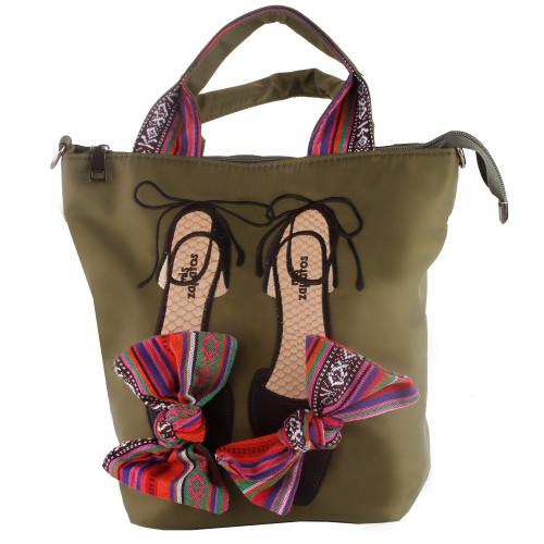 Show Story Women Girls Biker Studded Punk Style Shoulder Bag Casual Daypack Backpacks FB90028GR00
