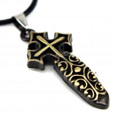 SCOO Fashion Hand of Buddha Buddhist Symbol Natural Stone Amulet Pendant Necklace FS90033JE00