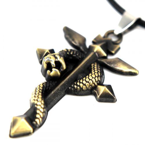 SCOO Fashion Hand of Buddha Buddhist Symbol Natural Stone Amulet Pendant Necklace FS90047JE00