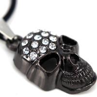 SCOO Fashion Hand of Buddha Buddhist Symbol Natural Stone Amulet Pendant Necklace FS90067JE00