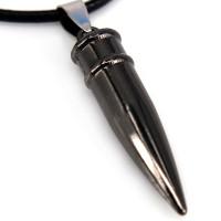 SCOO Fashion Hand of Buddha Buddhist Symbol Natural Stone Amulet Pendant Necklace FS90097JE00