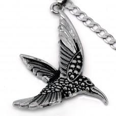 SCOO Fashion Hand of Buddha Buddhist Symbol Natural Stone Amulet Pendant Necklace FS90122JE00