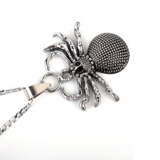 SCOO Fashion Hand of Buddha Buddhist Symbol Natural Stone Amulet Pendant Necklace FS90150JE00